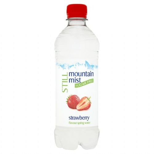 Mountain Mist Still Sugar Free Strawberry Flavour Spring Water 500ml